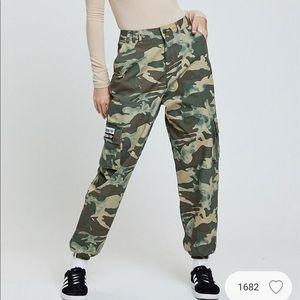 NWT Adidas camouflage track pants